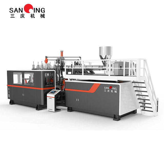 SQ-6/8 3L Moulds Hlgh Speed Rotary Blow Molding Machine